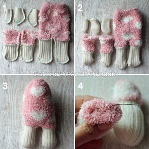 ovejas con calcetin paso 10
