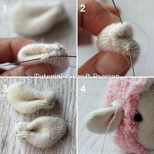 ovejas con calcetin paso 11