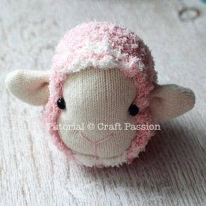 ovejas con calcetin paso 12