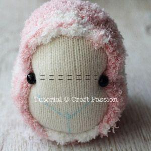 ovejas con calcetin paso 5