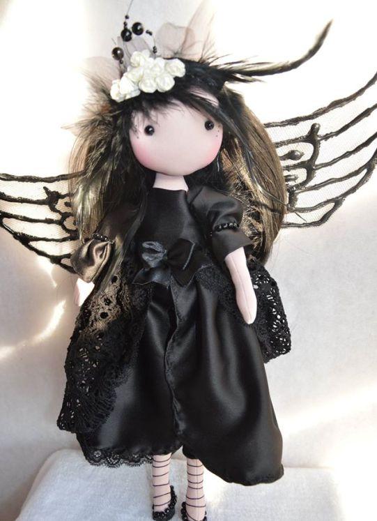 Muñeca Hada Gótica