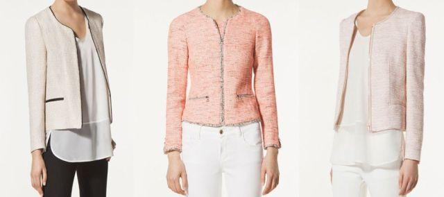 chaqueta estilo chanel 5
