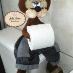 Muñecos portarollos de papel higiénico