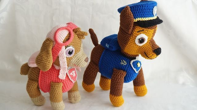 patrulla canina crochet