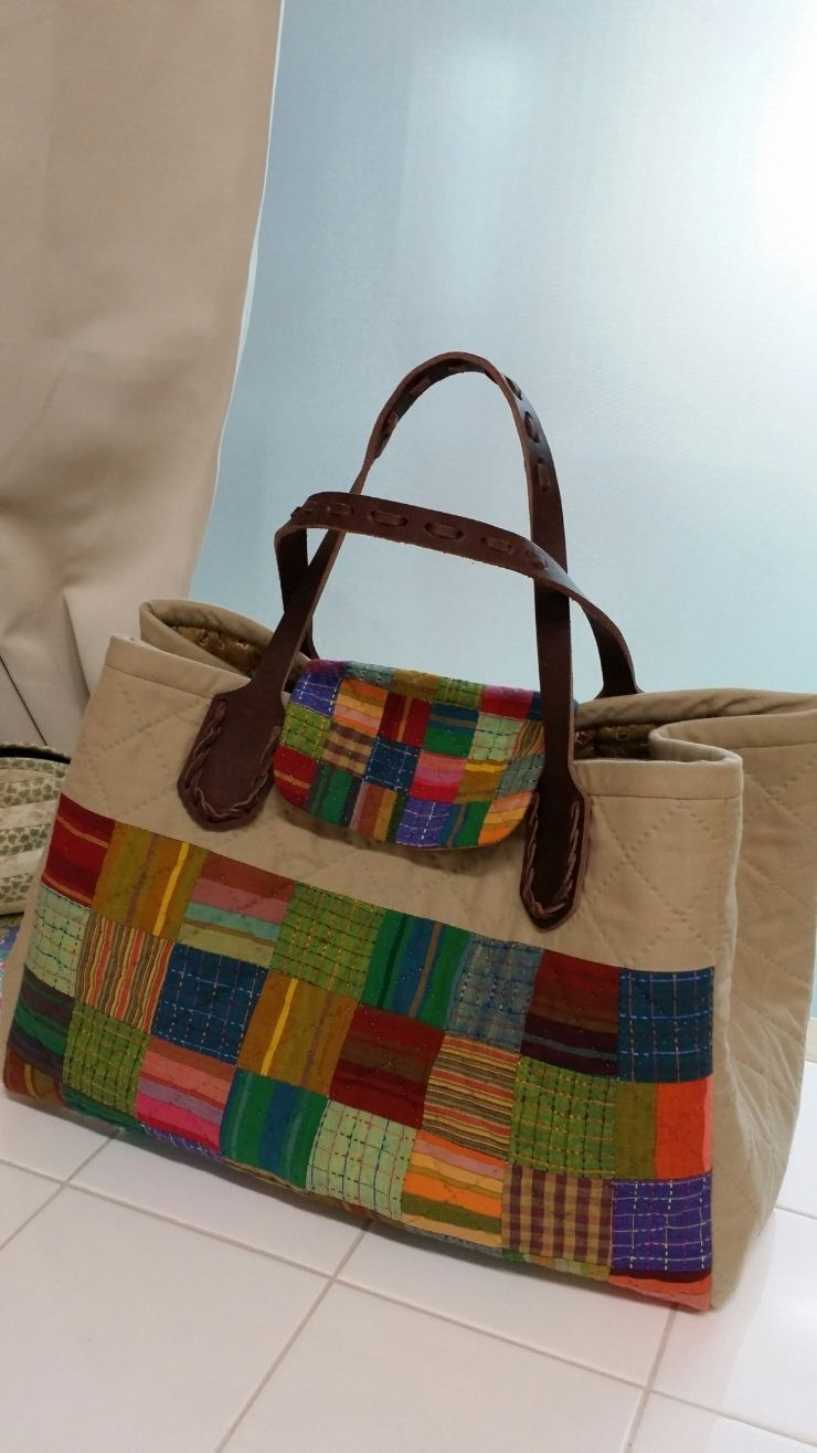 1000 Images About Ideas Para El Consultorio On Pinterest: Pin Patchwork Tutorial Bolsa