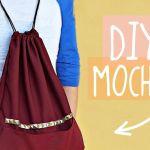 Como hacer una mochila sencilla