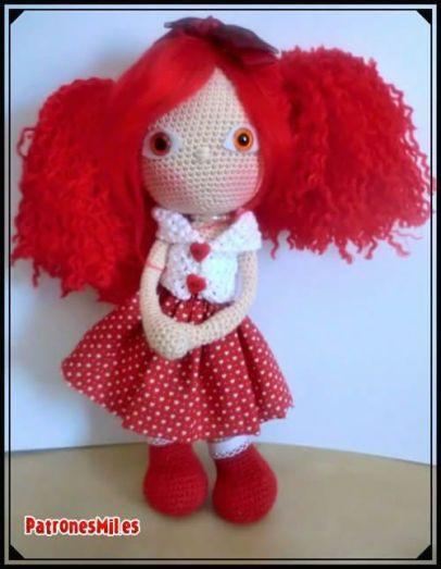 muñeca amigurumi 2