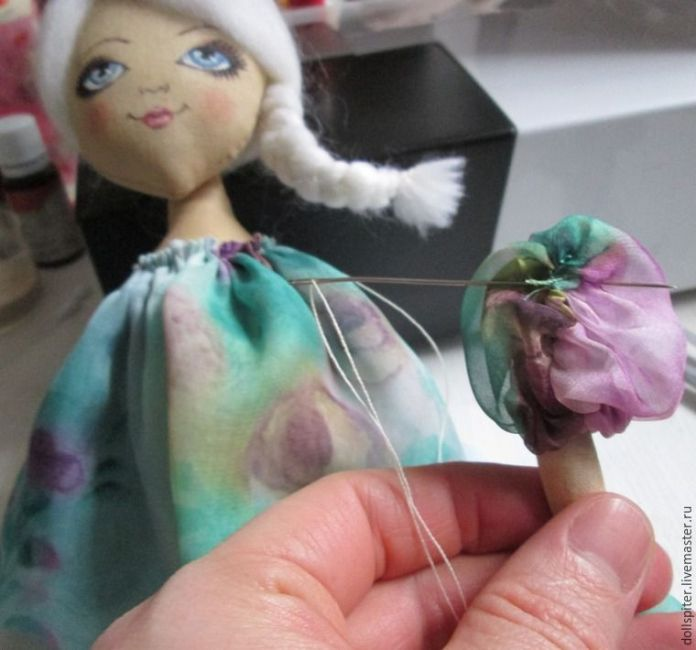 muñeca angel de primavera 31