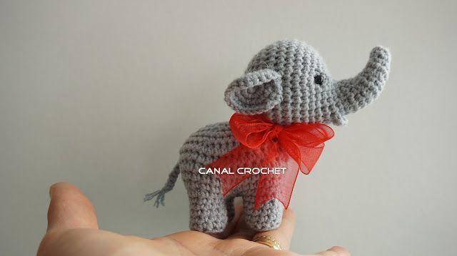 Patrón de Elefante amigurumi - Patrones gratis