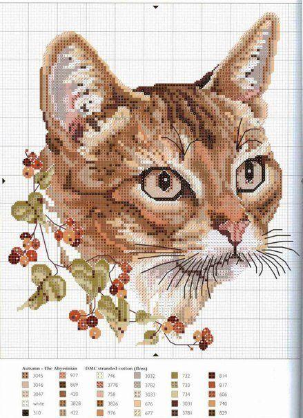 Gatos en punto de cruz (2)
