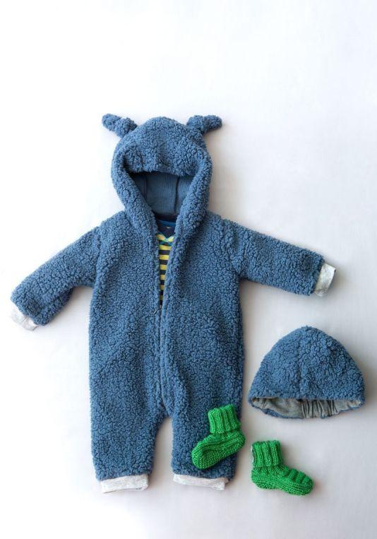 traje de oso de peluche bebe