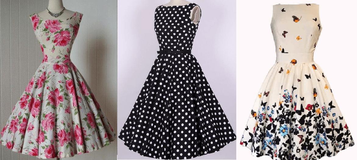 Patrones para hacer vestidos mujer