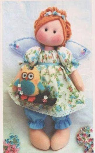 muñeca angel