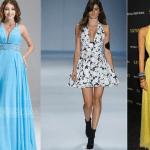 Patrón de vestido largo para verano