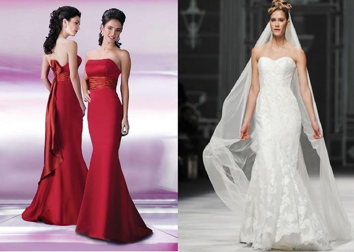 Patrones de costura para vestidos de novia