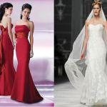 Patrón de vestido de novia