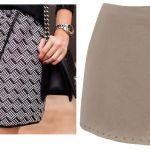 Patrón de falda asimétrica