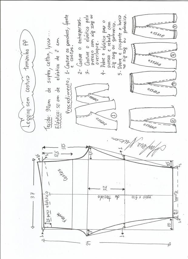 legging sin costural-XS