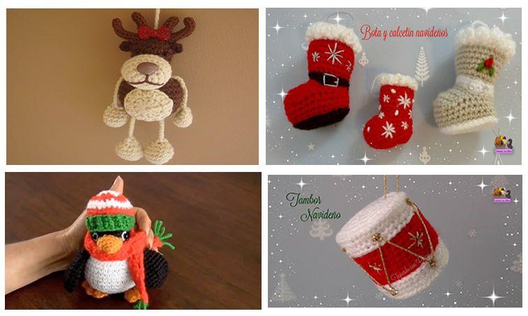 Patrones de Amigurumis para Navidad - Patrones gratis