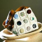 Como hacer un bonito bolso acolchado