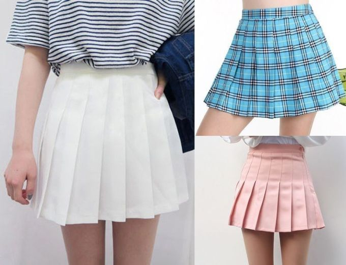 Patrón Falda de colegiala - Patrones gratis