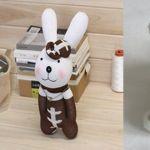 DIY de muñecos de animales realizados con calcetín