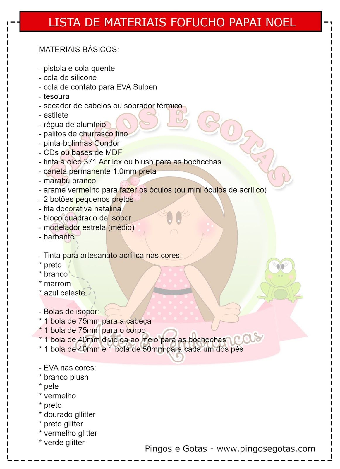 DIY y moldes de Papá Noel Fofucho - Patrones gratis