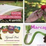 Marcapaginas crochet para libros