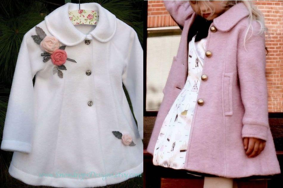Patrones para hacer abrigos de mujer