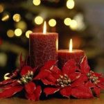 DIY Como hacer centros de mesa para Navidad