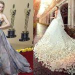 Patrón vestido de novia