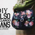 DIY y patrón de Bolso vaquero reciclando unos jeans