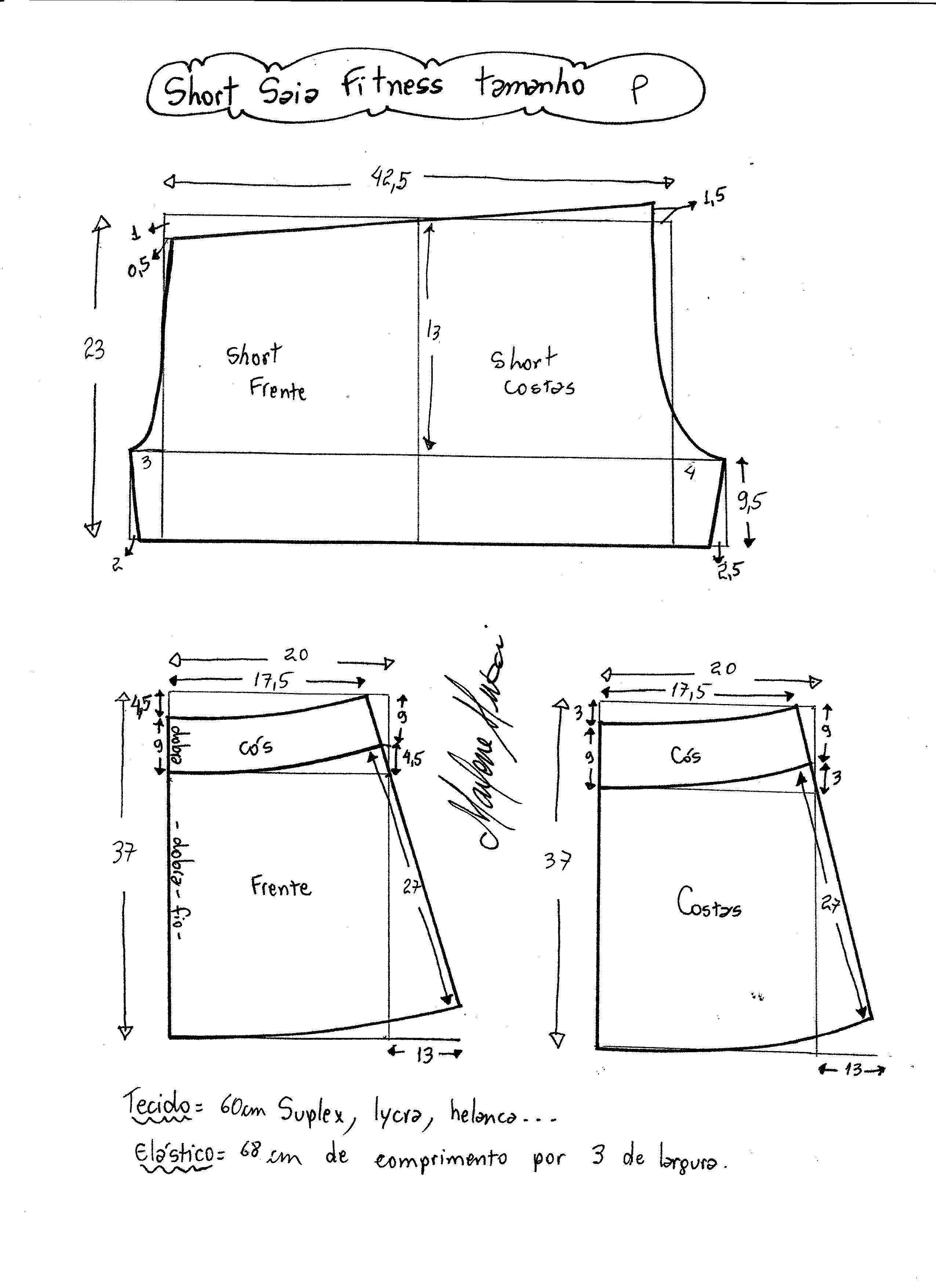 falda-short-deportiva-s - Patrones gratis
