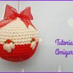 Como hacer Bolas de Navidad en amigurumi