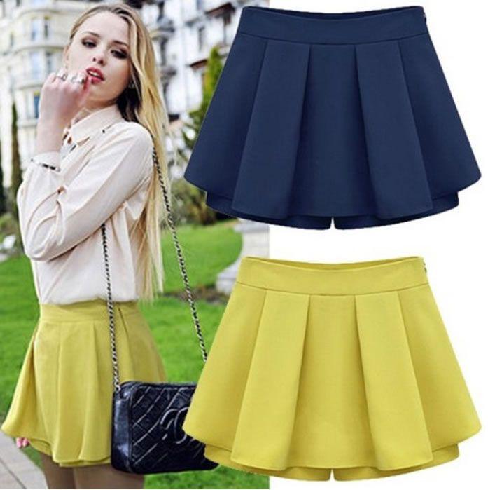 e93e24a61 Patrón Short falda - Patrones gratis