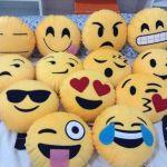 Moldes para hacer cojines o almohadas emoticones