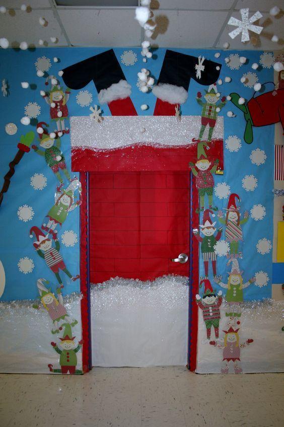 ideas-para-decorar-puertas-en-navidad-8