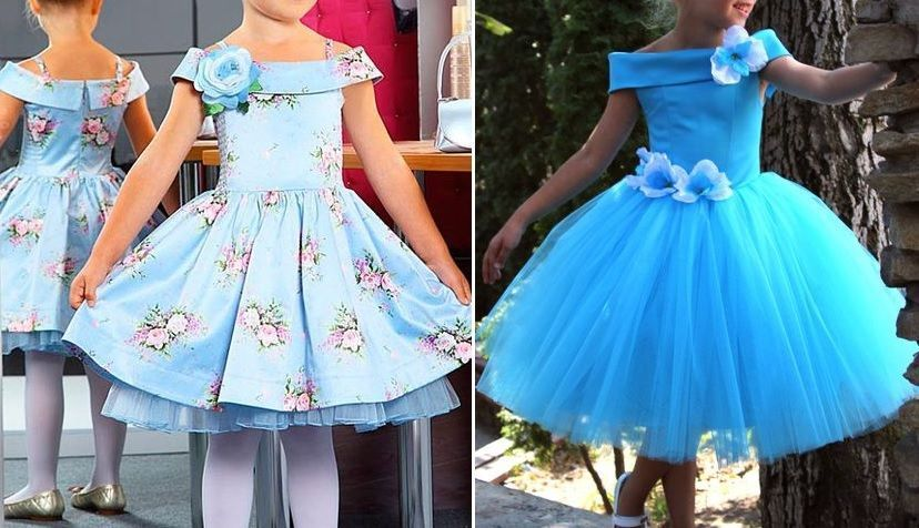 7921291c3 Patrón vestido de fiesta para niña - Patrones gratis