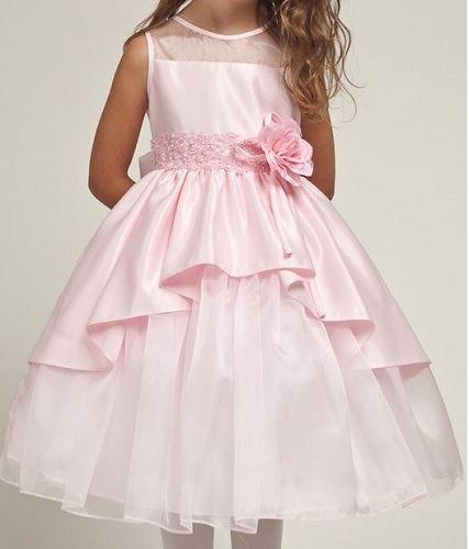 b2733af8e Patrón vestido de fiesta para niñas - Patrones gratis