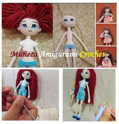 Muñeca Amigurumi Articulada