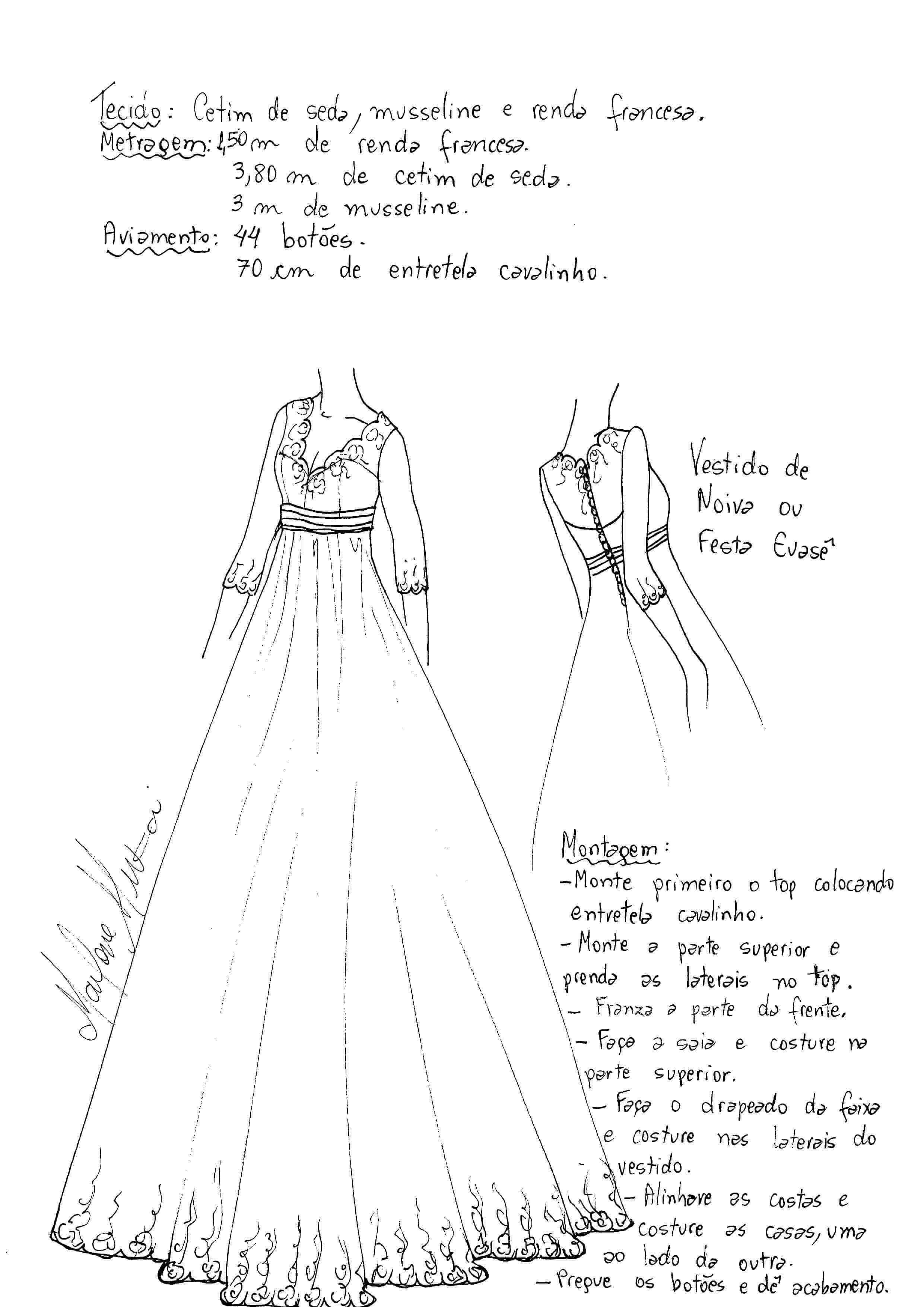 Patrón Para Hacer Un Vestido De Fiesta En Tul Patrones Gratis