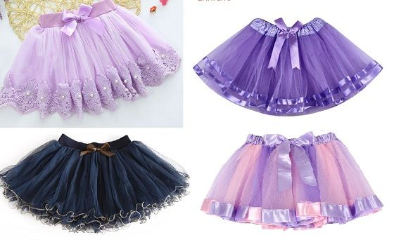 eb6c6b02c Patrón falda tutu para niñas - Patrones gratis