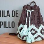 DIY Mochila Boho de trapillo