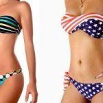 Patrón Bikini sin tirantes