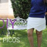 DIY como hacer una falda de picos