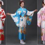 Patrón Kimono japones Yukata
