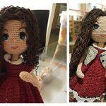 Muñeca amigurumi Carolina – DIY completo con el paso a paso