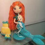 Muñeca Sirena en amigurumi DIY español