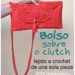 DIY Bolso estilo sobre a crochet