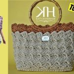 DIY Bolso de verano a crochet